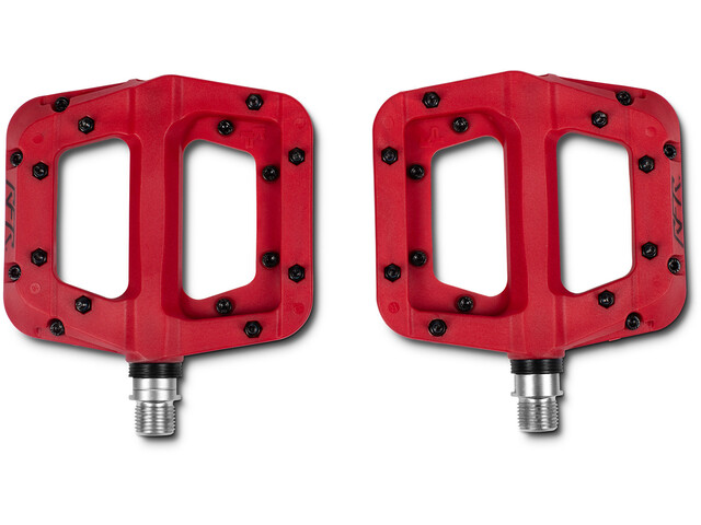 Cube RFR Flat HPP Race Polkimet , punainen